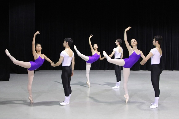 Advanced Students from Ballet San Jose School, photographed by Scott Belding