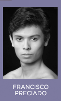 Headshot: Ballet San Jose dancer Francisco Preciado
